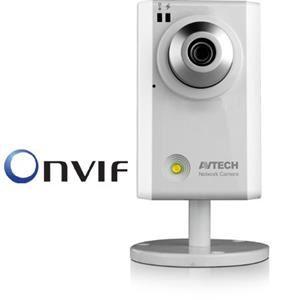 AVTECH AVN314 IP Kamera, 1.3 Megapixel HD (W/ONVIF, White LED, 720P Real-time)