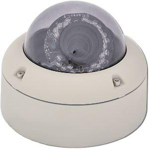 OEM Venkovní IP kamera, 1,3 Mpix, antivandal, dome, H.264, IR přísvit, PoE