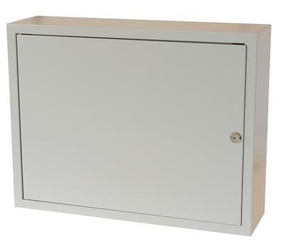 Rozvodná skříň 520x400x140, plechové dveře, uzamykatelná bez ventilace