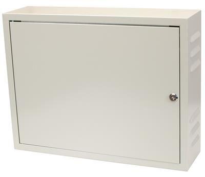 Rozvodná skříň 520x400x140, plechové dveře, uzamykatelná s ventilací