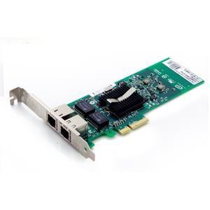 Intel E1G42ET síťová karta, PCI-Express, 2x 10/100/1000Mbps, full+low profile