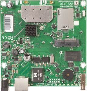 MikroTik RouterBOARD RB912UAG-2HPnD, 802.11b/g/n, RouterOS L4, miniPCIe