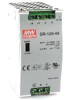 MEAN WELL DR-120-48 Spínaný zdroj na DIN lištu 120W 48V
