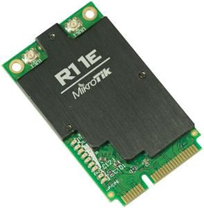MikroTik RouterBOARD R11e-2HnD 802.11b/g/n miniPCI-e card with u.fl connectors