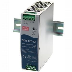 MEAN WELL SDR-120-12 Spínaný zdroj na DIN lištu  120W 12V