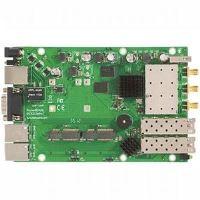 MikroTik RouterBOARD RB953GS-5HnT-RP, 5Ghz802.11a/n, L5, 3xGLAN, 2x miniPCI-e, 2xSFP, 2xSIM, 3xSMA, 128 MB, Ath720 MHz