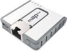 MikroTik RouterBOARD RBmAPL-2nD, mAP lite, ROS L4, 1xLAN, plast. krabice, napájecí adaptér