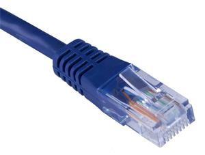 Patch kabel UTP, Cat5e, 0,25m, modrý