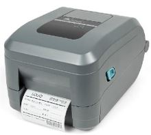 Tiskárna Zebra/Motorola GT800, 203dpi, USB,RS232, LAN, odlupovač, čidlo konce etikety