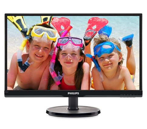 "22"" LED Philips 226V6QSB6 - FHD, IPS, DVI"