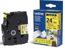 TZE-FX651, žlutá/černá, 24mm