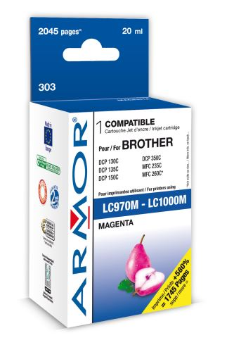 Armor ink-jet pro Brother MF C235, (LC970/1000M)