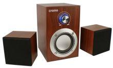 Crono CS-2106H - reproduktory 2.1, 10 W, hnědá