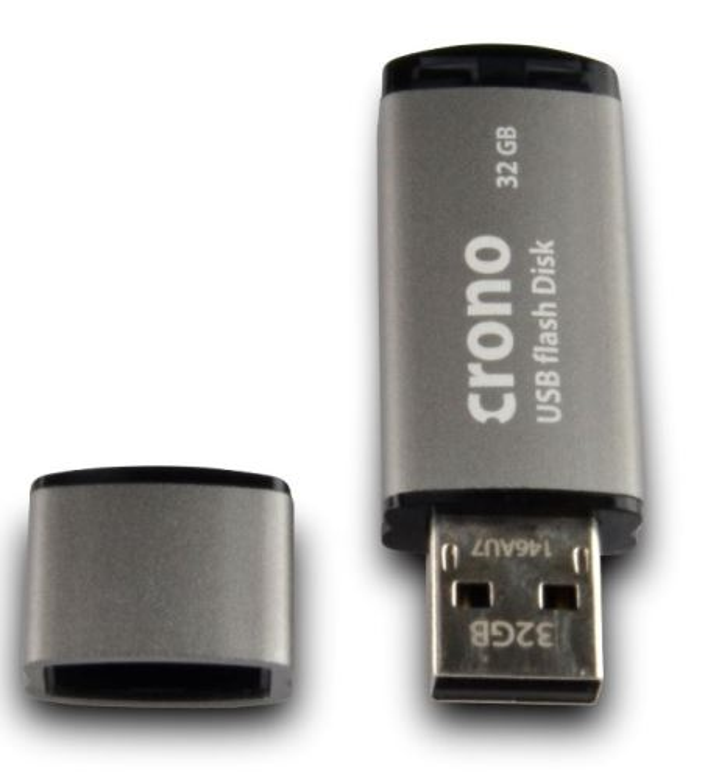 Crono R53 Classic 32GB Gray - USB flash disk, šedá